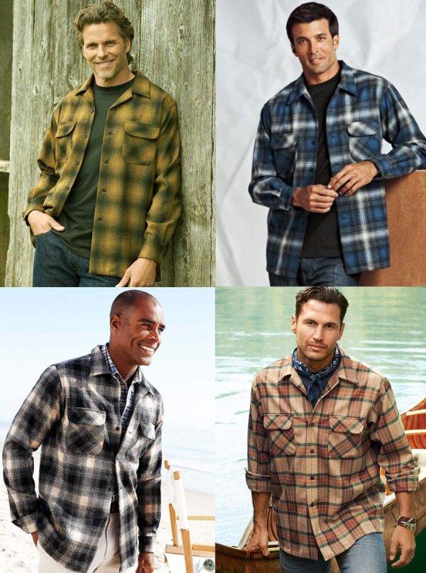 画像3: ペンドルトン ウールシャツ ボードシャツ ブルー・アクア シャドウ プラッドXS/Pendleton Board Shirt(Blue/Aqua Shadow Plaid)