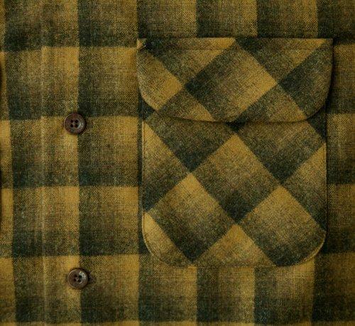 画像クリックで大きく確認できます Click↓2: ペンドルトン ウールシャツ ボードシャツ ブロンズ・チャコールオンブレXS・S/Pendleton Board Shirt(Bronze Charcoal Ombre)