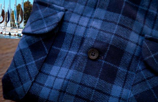 画像3: ペンドルトン ウールシャツ ボードシャツ ブループラッド/Pendleton Board Shirt