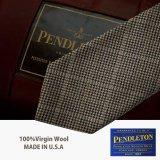 ペンドルトン ネクタイ(ライトブラウン)/Pendleton Necktie(Light brown)