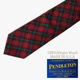 ペンドルトン ネクタイ(ロイヤルスチュワートタータン)/Pendleton Necktie(Royal Stewart Tartan)
