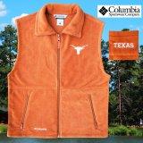 コロンビア スポーツウェア テキサスロングホーンズ フリース ベスト(ロングホーンズオレンジ)/Columbia Sportswear Texas Longhorns Fleece Vest(Cedar)