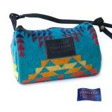ペンドルトン ドップバッグ(ターコイズ・イエロー・レッド・パープル)/Pendleton Dopp Bag With Strap