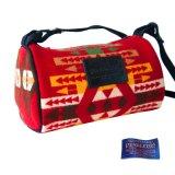 ペンドルトン ドップ バッグ(レッド・イエロー・ブラウン)/Pendleton Dopp Bag With Strap(Red/Yellow/Brown)