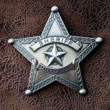 ウエスタン バッジ シェリフ・保安官バッジ ステートオブテキサス/STATE OF TEXAS