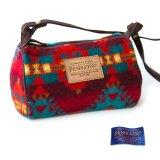 ペンドルトン ドップバッグ(バーガンディー・ターコイズ・レッド)/Pendleton Dopp Bag With Strap