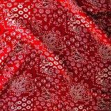シルク ワイルドラグ(カウボーイ大判スカーフ)レッド ビンテージ/100% Silk Wild Rags
