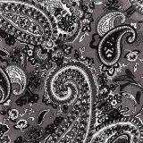 カウボーイ 大判スカーフ ワイルドラグ ペイズリー グレー/100% Silk Wild Rags(Paisley/Grey)