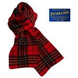 ペンドルトン タータン チェック ニットマフラー(ブロディータータン)/Pendleton Knit Muffler(Brodie Tartan)