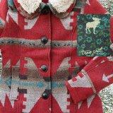 トゥルーグリット イエローストーン アズテック カントリージャケット(レディース・レッド)/True Grit Yellowstone Jacket(Red)