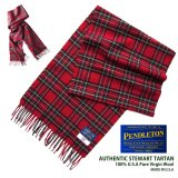 ペンドルトン ピュアバージンウール マフラー(スチュワート タータン)/Pendleton Pure Virgin Wool Muffler(Stewart Tartan)