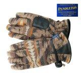 ペンドルトン ウール レザーグローブ(手袋)ダイヤモンドデザートジャガード/Pendleton Wool Gloves(Diamond Desert Jacquard)