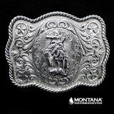 モンタナシルバースミス ウエスタン ベルト バックル サドル ブロンコ/Montana Silversmiths Western Belt Buckle Saddle Bronc