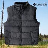 コロンビア ダウン ベスト(ブラック)L/Columbia Down Vest(Black)