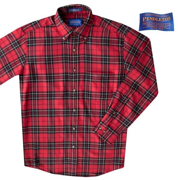 画像1: ペンドルトン サーペンドルトン ウールシャツ ブロディータータンS/Pendleton Sir Pendleton Wool Shirt(Brodie Tartan)