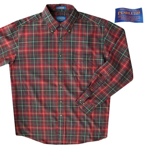 画像1: ペンドルトン サーペンドルトン ウールシャツ マクダガルタータンL/Pendleton Sir Pendleton Wool Shirt(MacDougall Tartan)