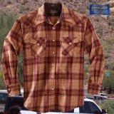ペンドルトン ウエスタンシャツ(サンセットプラッド)S/Pendleton Western Shirt