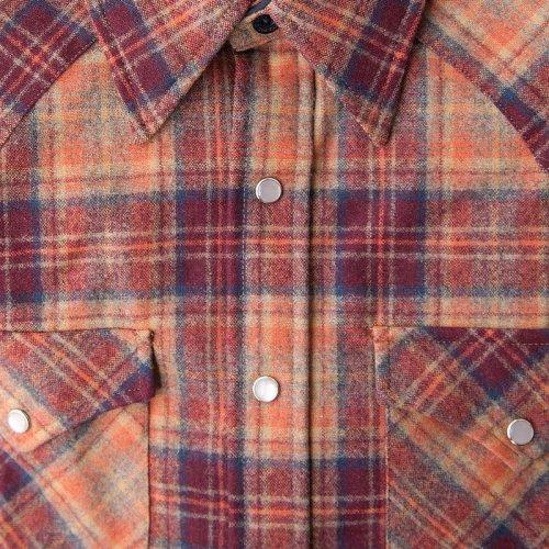 画像クリックで大きく確認できます Click↓2: ペンドルトン ウエスタンシャツ(サンセットプラッド)S/Pendleton Western Shirt