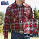 ペンドルトン ウエスタンシャツ(レッド・ブラック・ベージュオンブレ)/Pendleton Western Shirt
