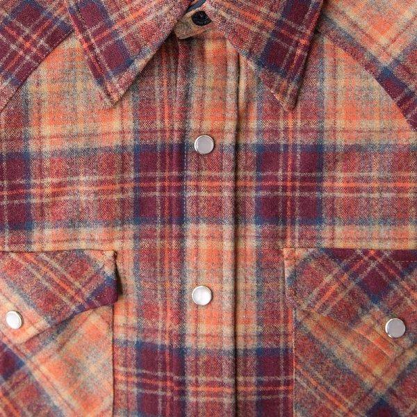 画像3: ペンドルトン ウエスタンシャツ(サンセットプラッド)S/Pendleton Western Shirt
