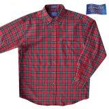 ペンドルトン サーペンドルトン ウールシャツ(レッド・グリーン・ホワイト)/Pendleton Sir Pendleton Wool Shirt(Red/Green/White)