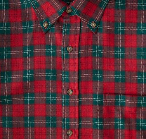 画像クリックで大きく確認できます Click↓2: ペンドルトン サーペンドルトン ウールシャツ(レッド・グリーン・ホワイト)/Pendleton Sir Pendleton Wool Shirt(Red/Green/White)