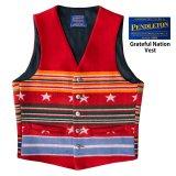 ペンドルトン ヴァージンウール グレイトフルネイション ウエスタン ベスト/Pendleton Western Wool Vest(Grateful Nation)