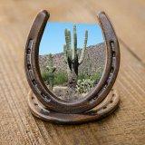 ウエスタン・ホースシュー フォトフレーム(写真立て)/Horseshoe Photo Frame