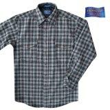 ペンドルトン ウールシャツ・ガイドシャツ・アウトドアシャツ グレー・ブラックS/Pendleton Guide Shirt