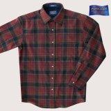 ペンドルトン ウールシャツ ロッジシャツ バーガンディー・ブラックS/Pendleton Lodge Shirt