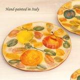 ハンドペイント フルーツ ディナープレート/Handpainted Dinner Plate