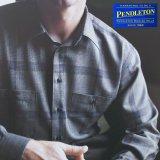 ペンドルトン ゼファークロス ピュアーバージンウール シャツ(グレー・ピンクプラッド)/Pendleton Zephyr Cloth Wool Shirt(Grey/Pink Plaid)