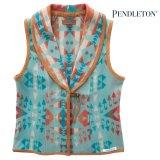 ペンドルトン レディース ウール ベスト(アクアブルー)S/Pendleton Wool Vest(Women's)