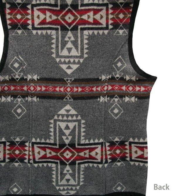 画像4: ペンドルトン レディース ウール ベスト(クロスロード グレー)S/Pendleton Wool Vest Crossroads Grey(Women's)