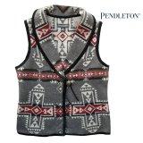 ペンドルトン レディース ウール ベスト(クロスロード グレー)S/Pendleton Wool Vest Crossroads Grey(Women's)