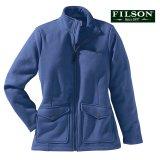 フィルソン レディース モールスキン フリース ジャケット(ブルーインディゴ)XS/Filson Moleskin Fleece Jacket Blue Indigo(Women's)