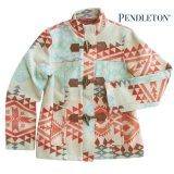 ペンドルトン レディース ピュアーヴァージンウール ジャケットXS/Pendleton Wool Jacket Canyonland Jacquard(Women's)