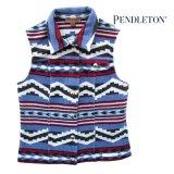 ペンドルトン レディース ピュアーヴァージンウール ベスト(デニムブルー)S/Pendleton Pure Virgin Wool Vest(Women's)