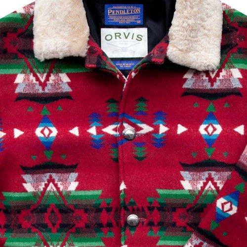 画像クリックで大きく確認できます Click↓2: オービス ペンドルトン ウール コート/Orvis Pendleton Wool Coat