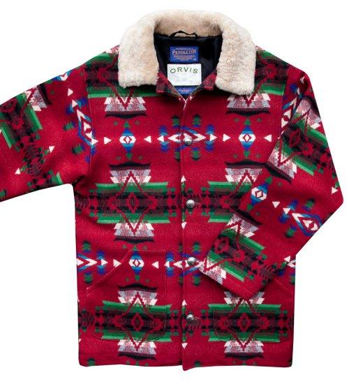 画像クリックで大きく確認できます Click↓1: オービス ペンドルトン ウール コート/Orvis Pendleton Wool Coat