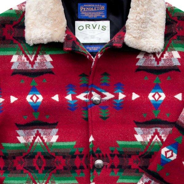 画像2: オービス ペンドルトン ウール コート/Orvis Pendleton Wool Coat