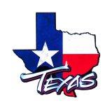 マグネット TEXAS テキサスフラッグ ウッドフォト