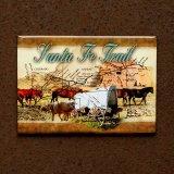 マグネット サンタフェ トレイル Santa Fe Trail