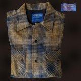 ペンドルトン ウールシャツ ボードシャツ ブルー・ブラウンXS/Pendleton Board Shirt