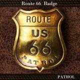 ルート66 パトロール バッジ/Route 66 Badge