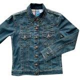 レディース ウエスタン デニム ジャケット(デニム)S/Western Denim Jacket(Women's)