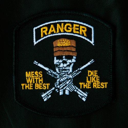 画像クリックで大きく確認できます Click↓1: ワッペン レンジャー Ranger/Patch