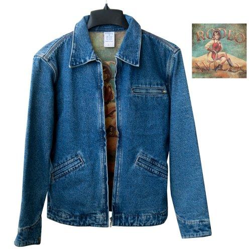 画像クリックで大きく確認できます Click↓1: カウガール デニム ジャケット(レディース)S/Cowgirl Denim Jacket(Women's)
