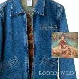 カウガール デニム ジャケット(レディース)S/Cowgirl Denim Jacket(Women's)