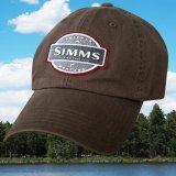 シムス 6パネル UPF50+ サンプロテクション キャップ(ブラウン)/Simms Cap(Dark Brown)